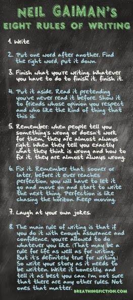 neilgaiman consejos